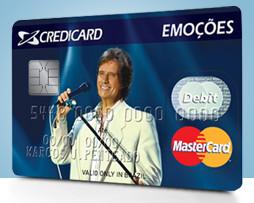 Como solicitar o Credicard Emoções Roberto Carlos