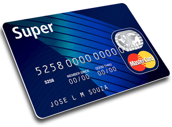 Cartão de Crédito Conta Super