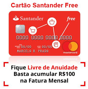 Como fazer o cartão Santander Free