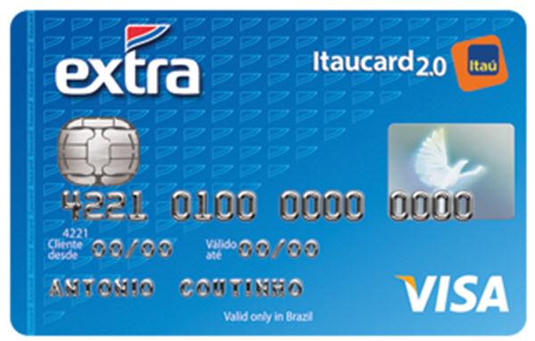 Como fazer um cartão Extra Itaucard pela internet