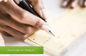 Motivos de cheques devolvidos