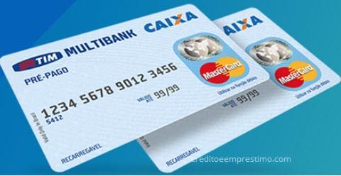 Cartão pré-pago Caixa Econômica Federal