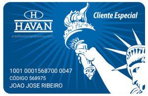 Como fazer cartão Havan pela internet