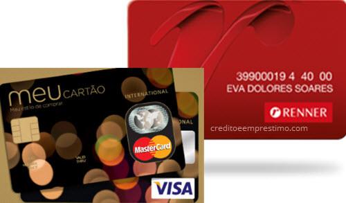 Cartão de crédito Renner