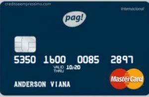 Como solicitar meu pag! cartão