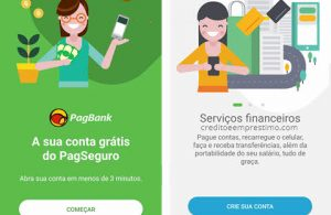 Como criar conta no PagBank do PagSeguro