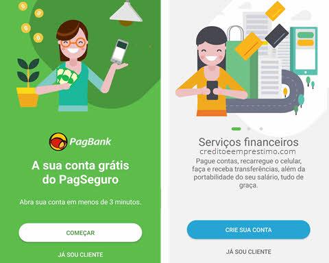 Como abrir conta no PagBank do PagSeguro
