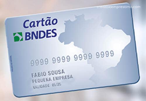 Como pedir cartão BNDES para MEI e MPMEs