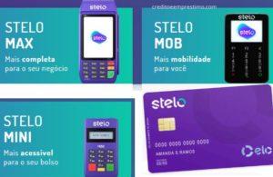 Como fazer cartão Stelo pré-pago maquininha
