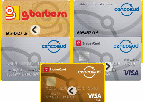 Como pedir cartão Cencosud comum ou cartão de crédito Cencosud Visa