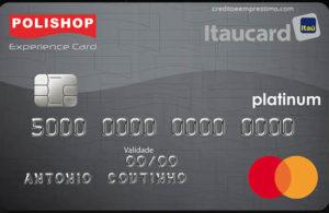 Como pedir o cartão Polishop Itaucard Experience
