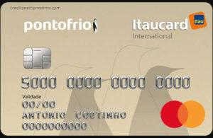 Como pedir o cartão Ponto Frio Itaucard