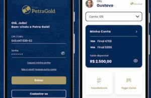 Como abrir conta digital Petra Gold