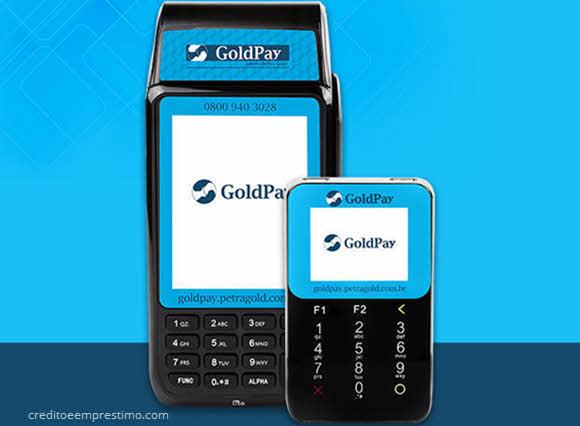 Como pedir maquininha GoldPay