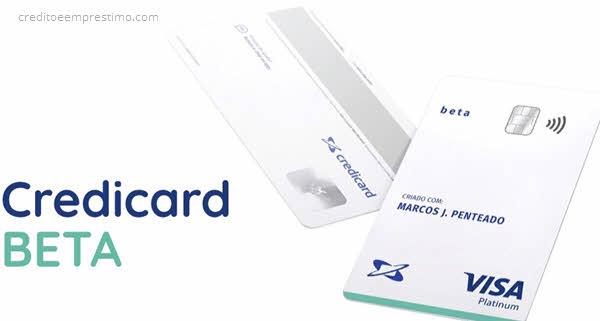 Como pedir o Credicard Beta sem anuidade