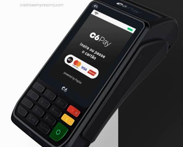 Como pedir a maquininha C6Pay pela internet e telefone