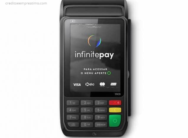 Como pedir a maquininha InfinitePay pela internet e telefone
