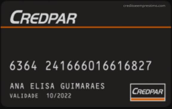 Como pedir o cartão Credpar