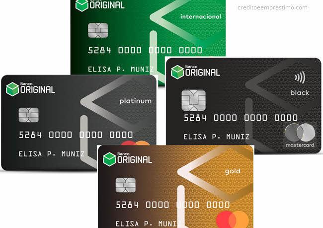 Como ter cartão de crédito do Original