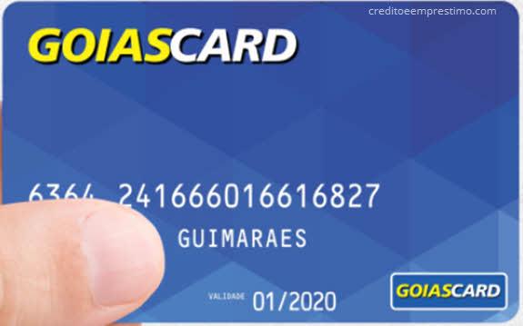 Como pedir o cartão Goias Card