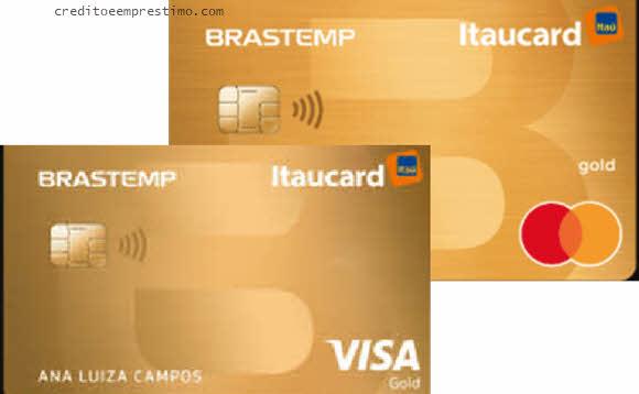 Pode pedir cartão Brastemp Itaucard pela internet