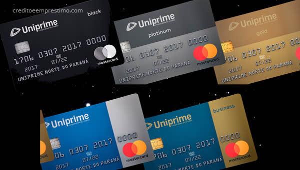 Como pedir cartão Uniprime Mastercard