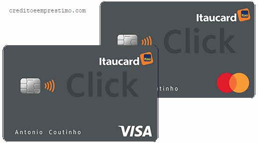 Como pedir cartão Itaucard Click pela internet e telefone