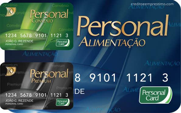 Como ver saldo do Personal Card, cartões benefícios