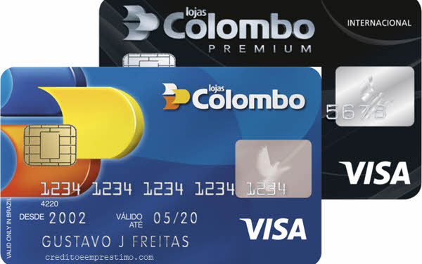 Como pedir o cartão das Lojas Colombo Visa Crediare