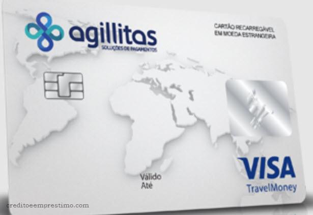Como pedir um cartão pré-pago Agillitas Travel Money