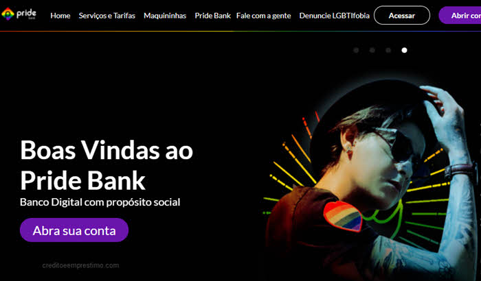 Como abrir conta no Pride Bank