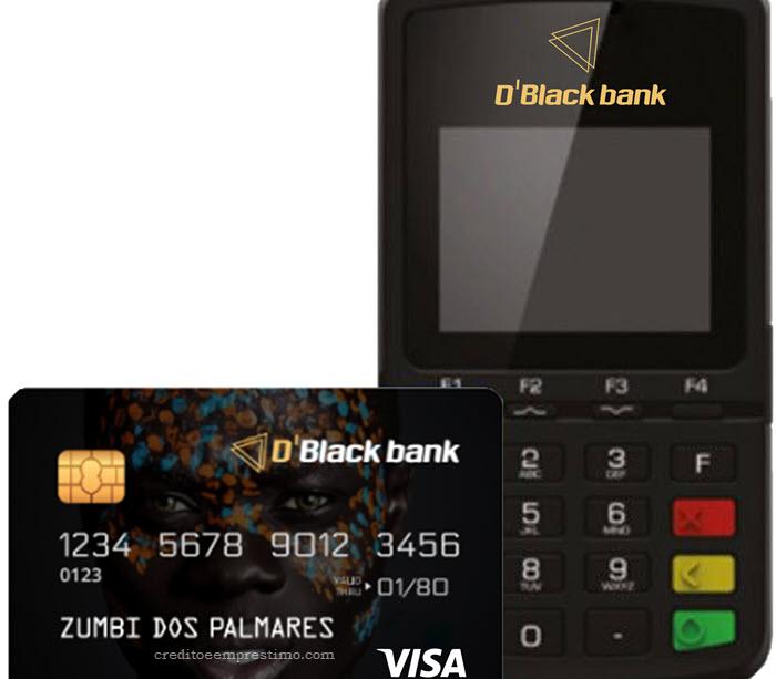 Como pedir a maquininha Pretinha do D'BlackBank